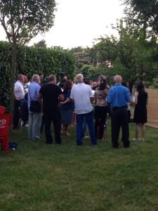 Domenica 7 Luglio 2013 - Il Coro Polifonico Farnesiano si prepara