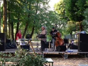 Sabato 6 Luglio 2013 - Sound check Gianni Azzali Trio