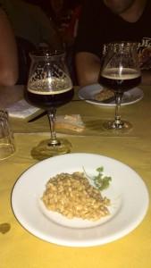 Domenica 28 Luglio 2013 - Cena con la birra Risotto alla maggiorana con O'Hara's Irish Stout